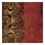 Native Tradition II Premium Giclee Print by Chariklia Zarris
