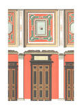 Designs for Painted Paneled Walls with Decorative Molding Prints