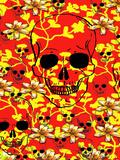 Pattern Skull Design Posters by  Wonderful Dream