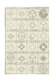 Thumbnails of Geometric Shape and Border Compositions Posters