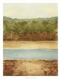 Golden Meadow I Giclée-Premiumdruck von Ethan Harper