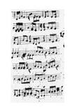 Close-Up of Sheet Music Prints