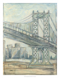 Metropolitan Bridge II Premium Giclee Print by Ethan Harper