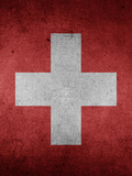 Switzerland Flag Prints by  Wonderful Dream
