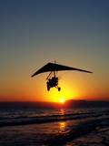 Sunset With Flying Style Art by  Wonderful Dream
