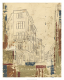 Streets of Downtown I Premium Giclee Print by Ethan Harper
