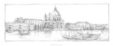 Sketches of Venice V Premium Giclee Print by Ethan Harper
