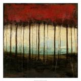 Autumnal Abstract I Premium Giclée-tryk af Jennifer Goldberger