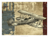 Vintage Aircraft I Premium Giclee Print by Ethan Harper