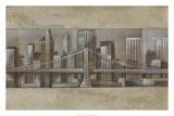 Silver Skyline I Stampa giclée premium di Ethan Harper
