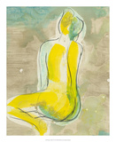 Figure in Relief II Premium Giclee Print by Jennifer Goldberger