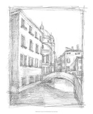 Sketches of Venice IV Premium Giclee Print by Ethan Harper