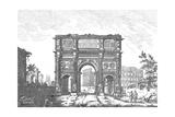 Arched Architectural Form Illustration Prints
