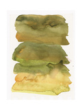 Blurry Green Watercolor Texture Prints