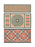 Several Bold Fretwork Patterns Posters