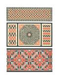 Several Bold Fretwork Patterns Premium Giclee Print