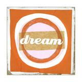 Dream Lettering on Circles Plakat
