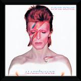David Bowie - Aladdin Sane Framed Album Art Sběratelská reprodukce