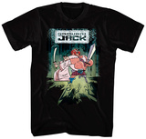 Samurai Jack- Jack Scotsman Team-Up Shirts