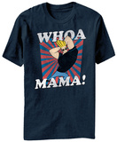 Johnny Bravo- Whoa Mama Style Shirts