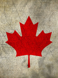 Canada Flag Prints by  Wonderful Dream