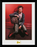 David Bowie - Chair Collector Print