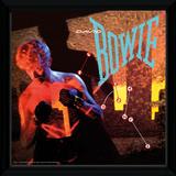 David Bowie - Lets Dance Framed Album Art Samletrykk