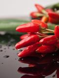 Chilli Food Kitchen Art by  Wonderful Dream