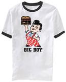 Big Boy- Standing Mascot (Ringer) T-shirts