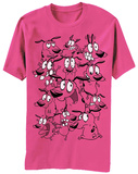 Courage the Cowardly Dog- Many Expressions T-shirts