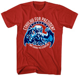 Legends of Cthulhu- Cthulhu for President Shirts