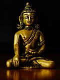 Asia Buddha Yoga Symbol Prints by  Wonderful Dream