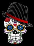 Hipster Horror Skull Halloween Prints by  Wonderful Dream