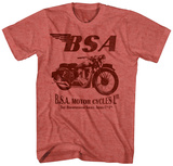 Birmingham Small Arms- Sleek Motorcycle T-shirts