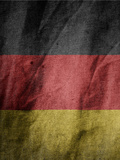 Germany Flag Poster by  Wonderful Dream