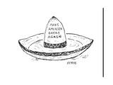 """Make America Great Again."" - Cartoon Regular Giclee Print by David Sipress"