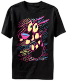Courage the Cowardly Dog- Scared in Color T-Shirt