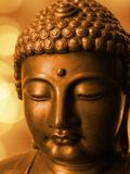 Golden Buddha Meditation Zen Prints by  Wonderful Dream