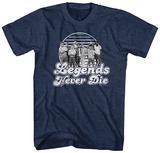 The Sandlot- Legends Never Die Badge T-skjorter