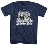 The Sandlot- Legends Never Die Badge T-shirts