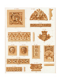 Various Carved Borders and Embellishments Posters