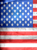 American Us Flag Giclée-Druck von  Wonderful Dream