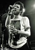 The Pogues- Shane MacGowan Live Fotografie