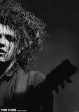 The Cure- Robert Smith Live Kunstdruck