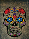 Floral Horror Skull Gothic Posters by  Wonderful Dream
