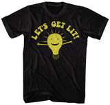 Let's Get Lit T-skjorte