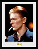 David Bowie - Smoke Collector Print
