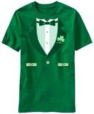 Fancy Irish Tux Costume Tee T-Shirt