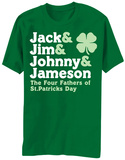St. Patricks Day- The Four Fathers T-Shirts