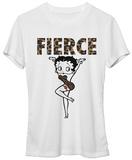 Juniors: Betty Boop- Fierce T-Shirts